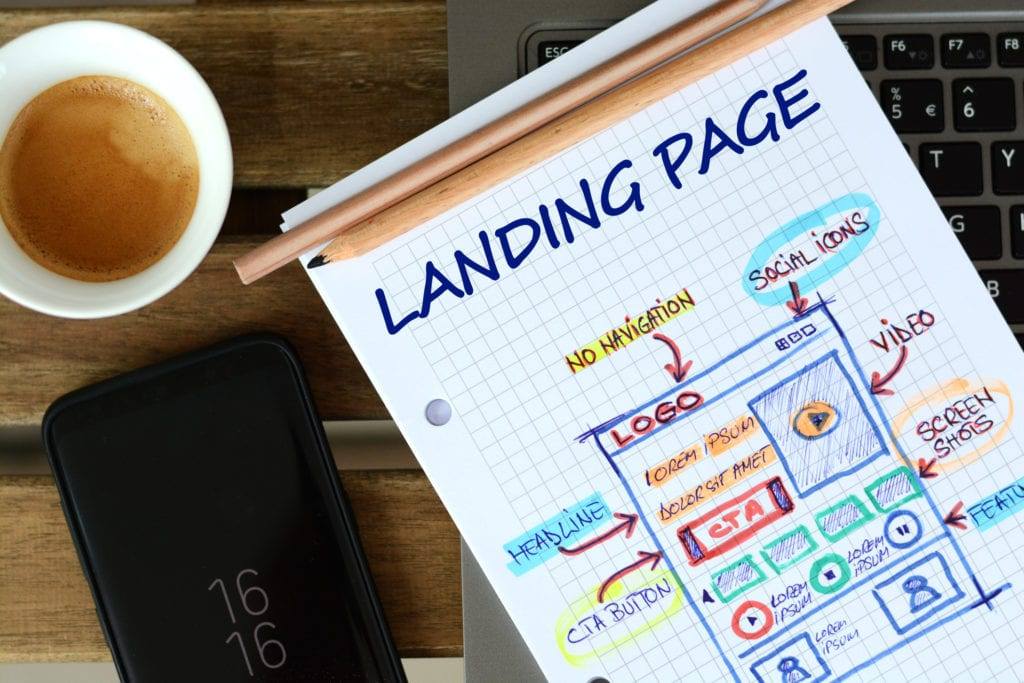 "A landing page is a standalone web page that someone can ""land"" on when they click through from a digital location. Should I have one?"