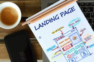 """A landing page is a standalone web page that someone can """"land"""" on when they click through from a digital location. Should I have one?"""